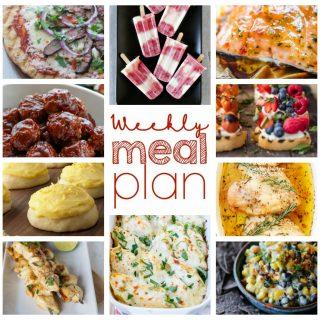 Weekly Meal Plan Week 44