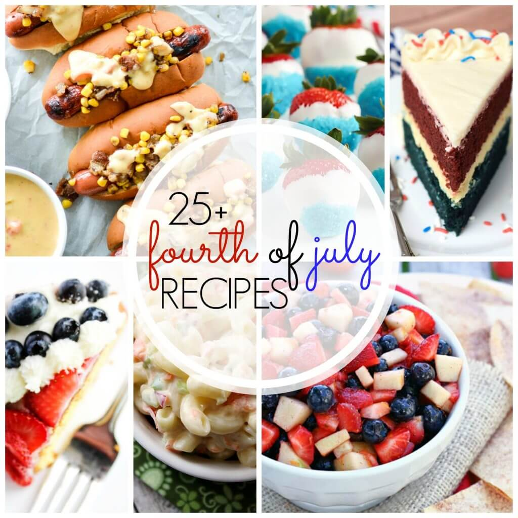 Recipes for the 4th of july dinners dishes and desserts for 4th of july appetizers and desserts