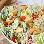 Caeser Pasta Salad