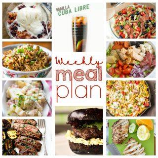 Weekly Meal Plan Week 49