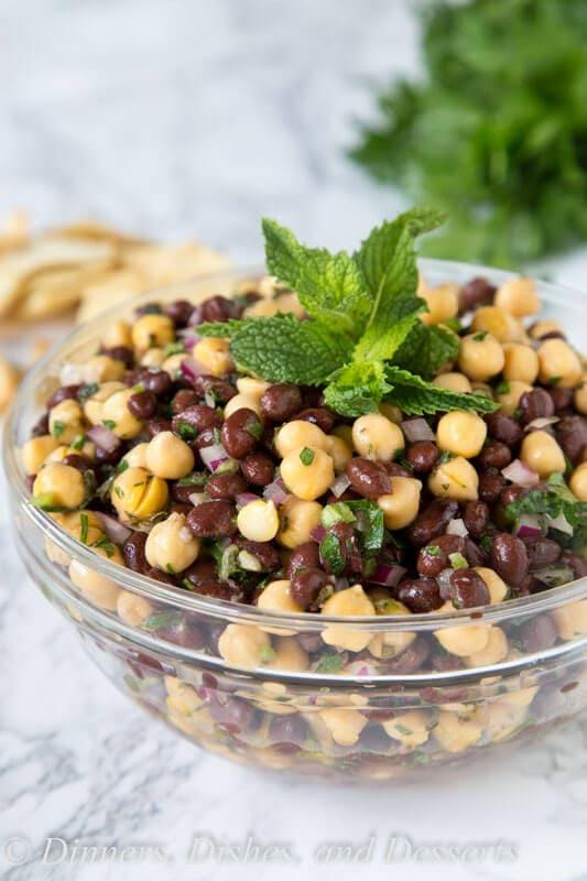 balela salad in a bowl