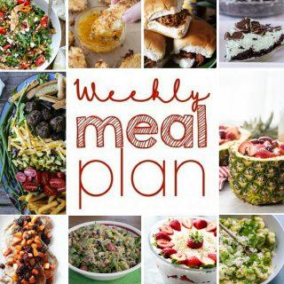 Weekly Meal Plan Week 53
