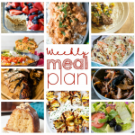 Weekly Meal Plan Week 54