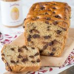 Peanut Butter Chocolate Chip Bread 2 square