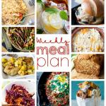 Weekly Meal Plan Week 60