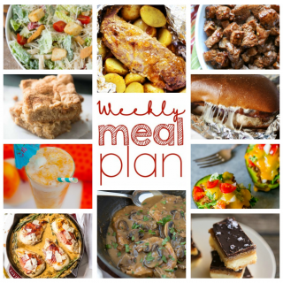 Weekly Meal Plan Week 59