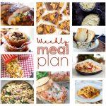 Weekly Meal Plan Week 61