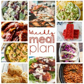 Weekly Meal Plan Week 58