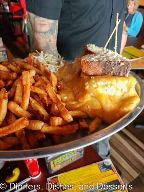 The infamous Melt Challenge at Melt Bar and Grill