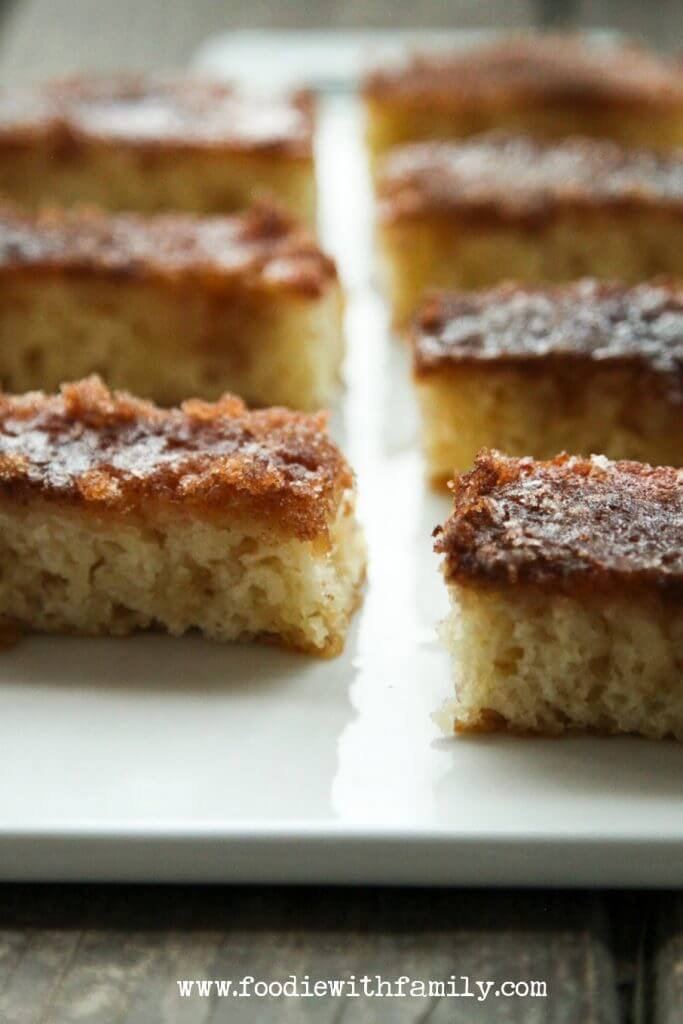 Cinnamon Toast Cake {Foodie with Family}