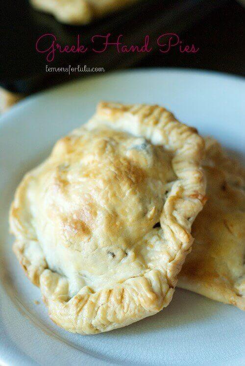 Greek Hand Pies {Lemons for Lulu}