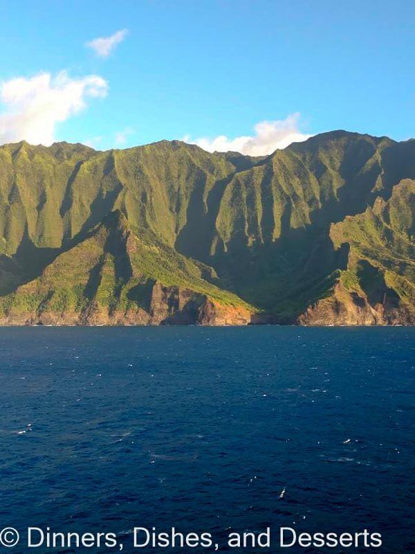 Napoli Coast off Kauai
