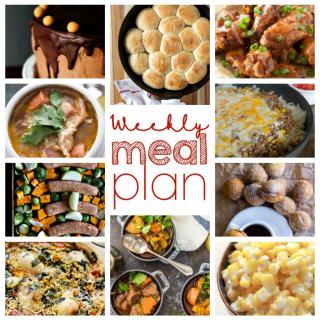 Weekly Meal Plan Week 65