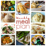 Weekly Meal Plan Week 64