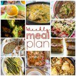 Weekly Meal Plan Week 66