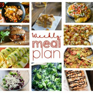 Weekly Meal Plan Week 62