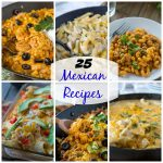 25 Mexican Recipes