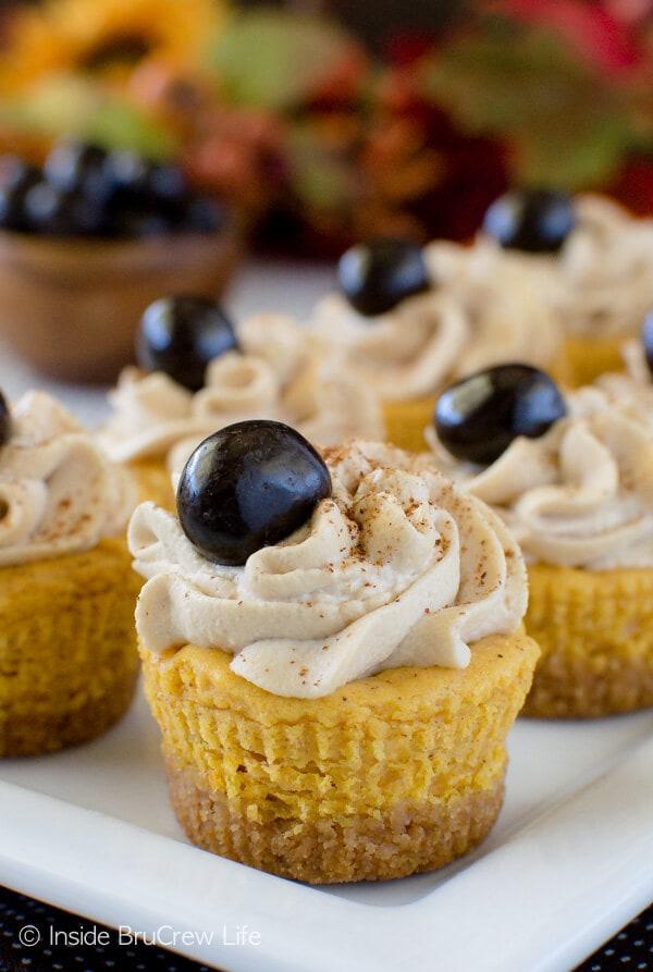 Pumpkin Spice Latte Cheesecake Bites {Inside BruCrew Life}