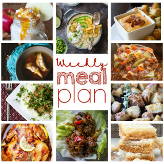 Weekly Meal Plan Week 67