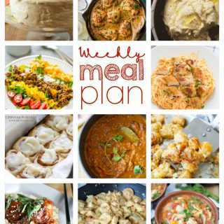 Weekly Meal Plan Week 69