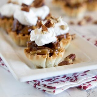 Mini Pecan Pie Bites