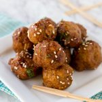 Crock Pot Honey Garlic Meatballs