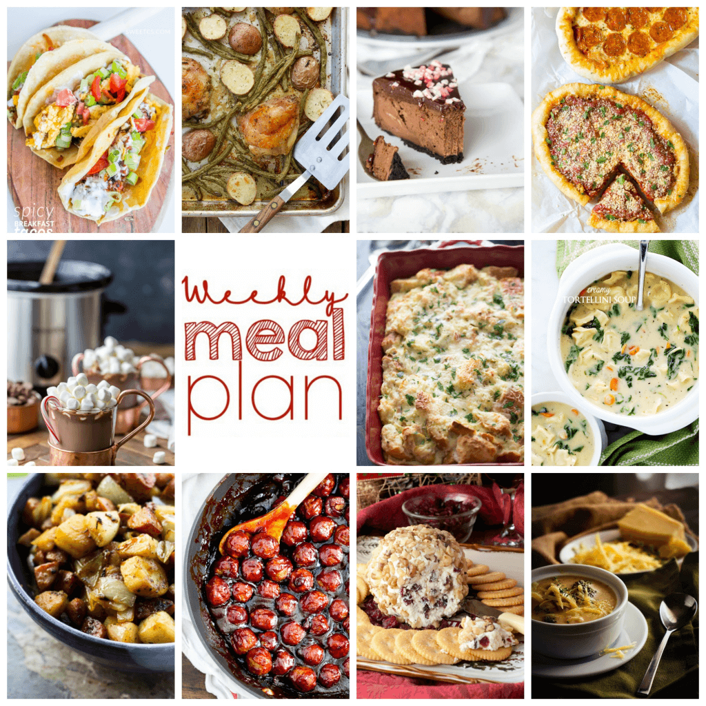 Weekly Meal Plan Week 74 – 11 great bloggers bringing you a full week of recipes including dinner, sides dishes, and desserts!