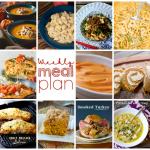 Weekly Meal Plan Week 71