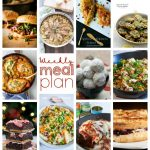 Weekly Meal Plan Week 72