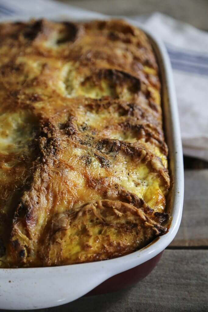 Ham and Cheese Melt Egg Bake {Foodie with Family}