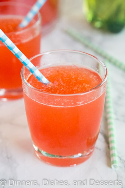 Easy Frozen Punch - a super easy punch recipe you can make in minutes! Make the day before and make your get together easy.