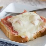 Open Faced Croque Monsieur