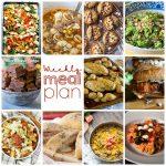 Weekly Meal Plan Week 77