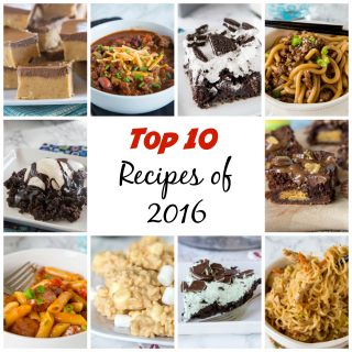Top 10 Recipes of 2016 - The top 10 recipes that were published in 2016, ranked by the most viewed.