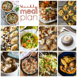 Weekly Meal Plan Week 78