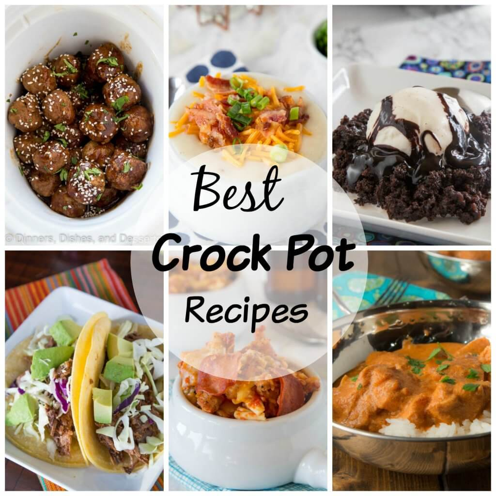 Crock Pot Recipes - Using your crock pot or slow cooker is so easy for busy days. Here is 20 crock pot recipes that will help get you through the week!