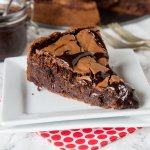 Gooey Brownie Pie