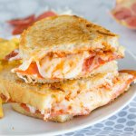 Pepperoni Pizza Grilled Cheese