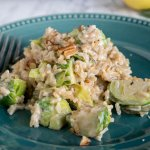 Short Cut Risotto with Brussels Sprouts