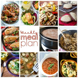 Weekly Meal Plan Week 81