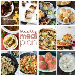 Weekly Meal Plan Week 84