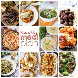 Weekly Meal Plan Week 83