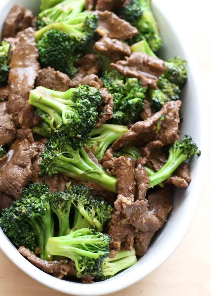Better Than Take-Out Chinese Beef and Broccoli {Barefeet in the Kitchen}