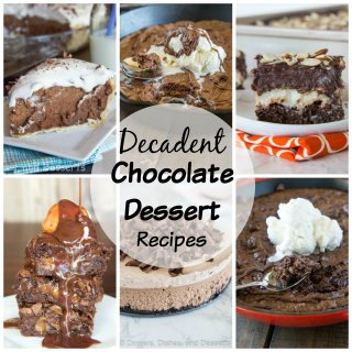Decadent Chocolate Dessert Recipes