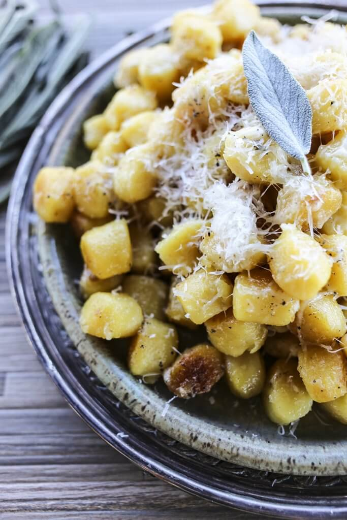 Garlic Butter Gnocchi {Foodie with Family}