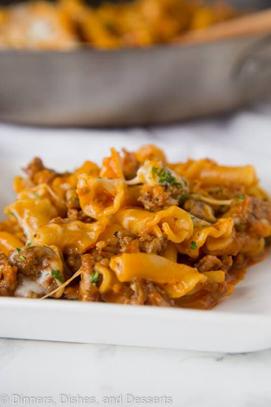 Homemade Hamburger Helper Lasagna Skip The Box And Try This Version Just A