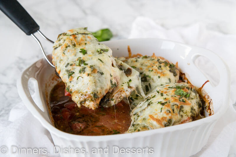 Italian Chicken Bake Dinners Dishes And Desserts