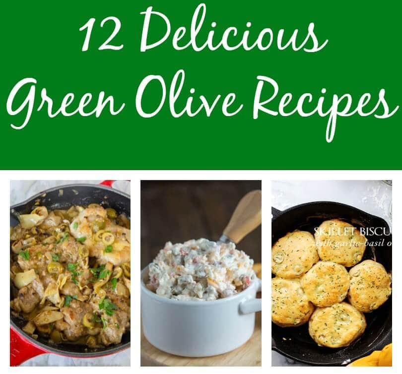 12 Green Olive Recipes