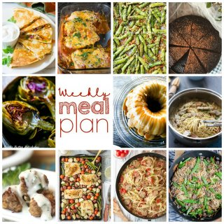 Weekly Meal Plan Week 86