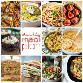 Weekly Meal Plan Week 85